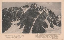 Cartolina  - Postcard / Viaggiata -  Sent.  Gruppo Del Bernina. - Sondrio