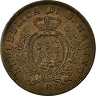Monnaie, San Marino, 10 Centesimi, 1935, Rome, SUP+, Bronze, KM:13 - San Marino
