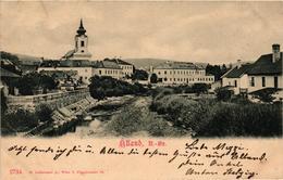 Austria, Niederösterreich, Alland, Village Scene, Old Postcard 1900 - Other