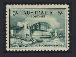Australia 1932 Sydney Harbour Bridge (5 Shilling) MH - 1913-48 Kangaroos