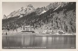 Cartolina  - Postcard / Viaggiata -  Sent.  Lago Di Misurina. - Bolzano (Bozen)
