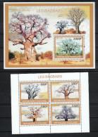 Togo 2010**, Affenbrotbaum, Sukkulente Baobab / Togo 2010, MNH, Baobab, Succulent - Sukkulenten