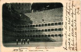 Austria, Salzburg, Sommer-Reitschule, Old Postcard 1898 - Salzburg Stadt