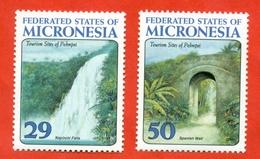 Micronesia 1993. Tourism. Unused Stamps. - Micronesia