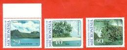 Micronesia 1994. Tourism. Unused Stamps. - Micronesia