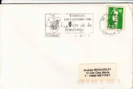 FRANCE - 1993 - Cognac - Fête De La Vendange - Frankreich