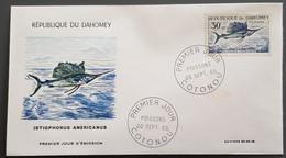 Dahomey - FDC 1965 - YT N°227 - Faune / Poisson - Bénin – Dahomey (1960-...)