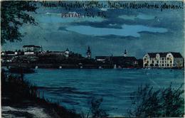 Slovenia, Ptuj, Pettau, View, Old Postcard 1906 - Slovenia