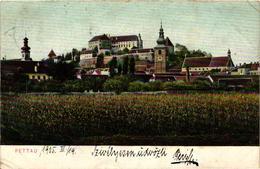 Slovenia, Ptuj, Pettau, Town Scene, Old Postcard 1905 - Slovenia