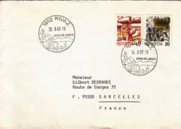 SUISSE : 1988 - Rivaz - Joyau De Lavaux - Schweiz