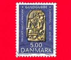 DANIMARCA - Danmark - Usato - 1993 - Reperti Archeologici - Archeological Findings - Oggetti D'oro - 5.00 - Usati