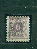 Schweden, Wertziffern Nr. 33 B Gestempelt - Used Stamps