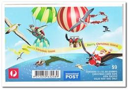 Christmas Island, Postfris MNH, Christmas ( Booklet ) - Christmaseiland