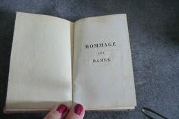 Livre Ancien - Hommage Aux Dames - à Paris Chez Janet - 1817 - 6 Gravures Et Calendrier Pour L'an 1817 - Poetry