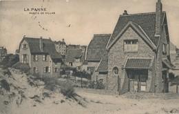 CPA - Belgique - De Panne - La Panne - Partie De Villas - De Panne