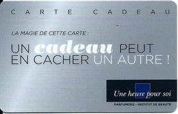 Carte Cadeau - E. LECLERC - Une Heure Pour Soi / Carré Bleu - GIFT CARD /GESCHENKKARTE - Cartes Cadeaux
