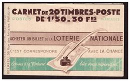 Carnet N° 517 C1 - Markenheftchen