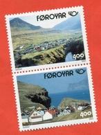 Faroe Islands 1993.  Tourism. Unused Stamps. - Faroe Islands