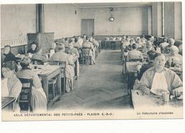 PLAISIR - Asile Départemental Des Petits Prés, Réfectoire D'Assistés - Plaisir