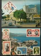 MONACO= UN LOT DE 7 CARTES POSTALES - Monaco