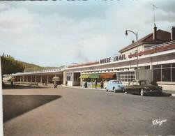 Gard : ALES : Gare Routière - Avec Automobile - Citroen - Id - Ds 21 à Définir ( C.p.s.m.- Photo Vérit. ) Grand Format - Alès