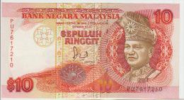Malaysia 10 Ringgit  1989 Pick 29 UNC - Malaysia
