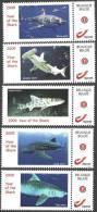 Mystamp MNH  2009 Year Of The Shark (5x) - Sellos Privados