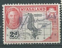Nyasaland - Yvert N° 80 Oblitéré   -   Bce 18101 - Nyasaland (1907-1953)