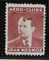 France Vignette Mermoz  - Oblitéré - B/TB - Aviation