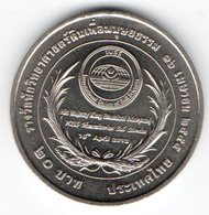 "20 Baht 2012 Commemorativi ""soil Scientist Reward "" - Tailandia"