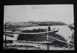 Rabat  -  Vue Générale Avec La Mer  -  Circulé En 1916 - Rabat