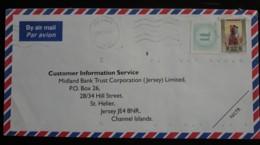 N° 386   Sur Lettre Avec Vignette Spéciale Datée Du 25.12.1993 - Bahreïn (1965-...)