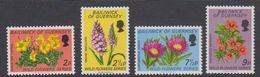 Guernsey 1972 Flowers 4v ** Mnh (42527A) - Guernsey