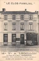 """CPA - 59, HAZEBROUCK, Mme Vve A. Legillon, 4 Place De La Gare """" Le Cos Familial """" - Hazebrouck"""