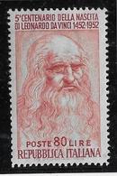 Italie N°626 - Neuf ** - TB - 1946-60: Mint/hinged