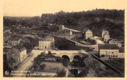 Bonne-Modave - Panorama - La Gare Et Les Hôtels - Modave