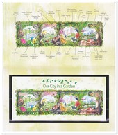 Singapore 2013, Postfris MNH, Birds, Flowers ( Folder ) - Singapore (1959-...)