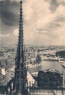 Cpm 75 Paris 1 Cathédrale Notre Dame La Fléche - Notre-Dame De Paris