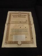 OBBLIGAZIONE A PREMI ELETTRIFICAZIONE  FERROVIE DELLO STATO SERIE SPECIALE-1948 - Chemin De Fer & Tramway