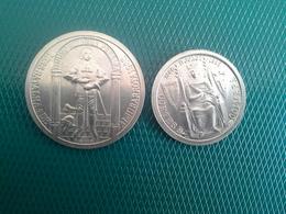 Lot 2 Moedas   100 Escudos 1985,    25 Escudos 1985 - Portugal