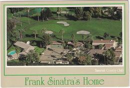 TENNIS COURT - Frank Sinatra's Home - Tamarisk Country Club - Rancho Mirage, California - (USA) - Tennis