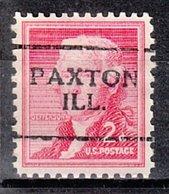 USA Precancel Vorausentwertung Preo, Locals Illinois, Paxton 701 - Vereinigte Staaten