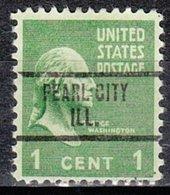 USA Precancel Vorausentwertung Preo, Locals Illinois, Pearl City 734 - Vereinigte Staaten