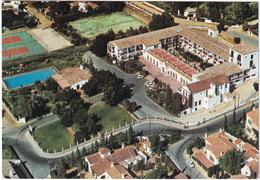TENNIS COURT - Torremolinos - Hotel 'Montemar' - Swimmingpool - Aerial View - (Espana/Spain) - Tennis