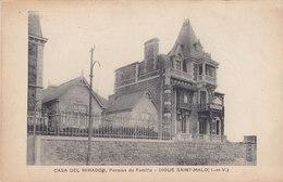 "SAINT MALO : La Pension De Famille ""Casa Del Mirador "" - Saint Malo"
