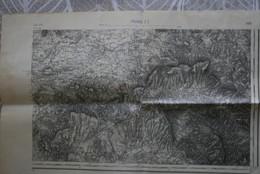Carte 1/ 80000 Inst Géo Armée Tirage 1929 PRIVAS SE (dt Bourdeaux, Taulignan, Bégude De Mazenc, Allan, Beconne, Montjoux - Cartes Topographiques