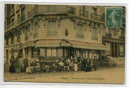 75 PARIS 16em Le CAFE De L'Aéroplane Huchet Point Du Jour Bel Aspect Toilé Couleur  D07 2019 - Arrondissement: 16