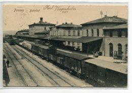 ALLEMAGNE PASSAU  Jamais Vue ?  Bahnhof Gare Wagons De Marchandises Voies Quais écrite Timbrée    D07 2019 - Passau