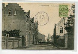 BELGIQUE BRAKEL NEDERBRAKEL Carte RARE Kasteelstraat écrite Timbrée 1907    D07 2019 - Brakel