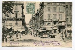 13 MARSEILLE LL 52 Tramway Pharmacie Carrefour Animation 1903 écrite  Dos Non Divisé   La Rue D'Aix  D07 2019 - Non Classés